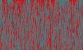 Red abstract background with blue-green relief vertical brush strokes. Acrylic imitation royalty free stock photos