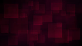Red abstract background of blurry squares Stock Photography