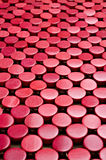 Red abstract background  with circles Royalty Free Stock Photo