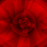 Red abstract background with circles Royalty Free Stock Photos