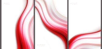 Red Abstract background collection. Red Abstract background high technology collection stock illustration