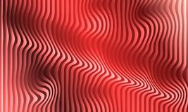 Red Abstract Background 3D template desing stock illustration
