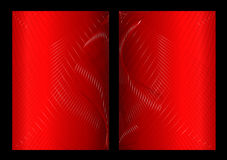 Red abstract background, front and back. Red abstract background texture, front and back royalty free illustration