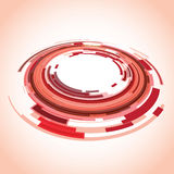 Red abstract background. A red abstract background image vector illustration