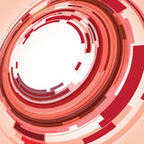 Red abstract background. A red abstract background image stock illustration