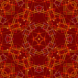 Red abstract background, light. Red abstract background, kaleidoscope light Stock Photography