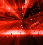 Red abstract background. Line square light burst Royalty Free Stock Photos