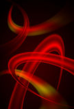 Red abstract background. Stock Images