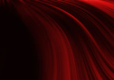 Red Abstract  background. Red Abstract modern art curve background Stock Photography