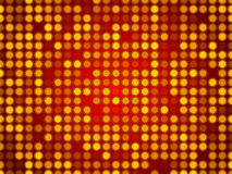 Red abstract background, particles circles Royalty Free Stock Photo