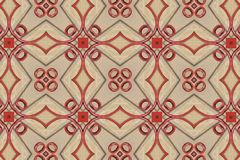 Red abstract background pattern textured. Lines and symmetrical shapes stock photos