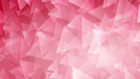Red abstract background of small triangles Royalty Free Stock Image