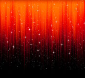 Red abstract background with stars Stock Photos