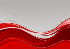 Red abstract background template royalty free illustration