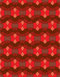 Red Abstract background texture mosaic Royalty Free Stock Images