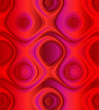 Red abstract background with a unique swirl pattern Royalty Free Stock Images