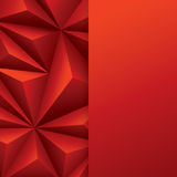 Red abstract background vector. Can be used in cover design, book design, website background, CD cover or advertising Royalty Free Stock Images