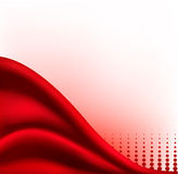 Red abstract background. Vector illustartion. Royalty Free Stock Photos