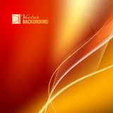 Red abstract background. Royalty Free Stock Photography