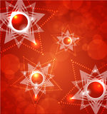 Red Abstract Background. For website, banner, business card Stock Photography
