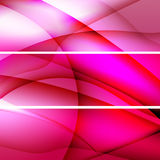 Red abstract backgrounds banners. Set of Elegant  banners. Vector illustration Stock Photography