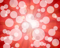 Red abstract bokeh Royalty Free Stock Image