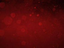 Red abstract bokeh background and texture Royalty Free Stock Photography