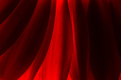 Red Abstract of Chrysanthemum Petals Royalty Free Stock Image