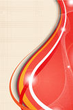 Red abstract cover Stock Photography