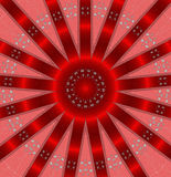 Red abstract cristmas background Stock Photography