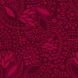 Red abstract cute background seamless pattern Royalty Free Stock Image