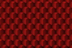 Red architectonic 3D abstract. Red abstract 3D architectonic background Stock Images