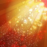 Shiny abstract decorative background Royalty Free Stock Photo