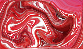 Red Abstract Distorted Swirls. Background - abstract paint distorted Royalty Free Stock Photo