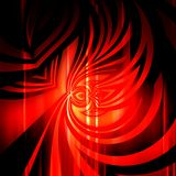Red abstract with elegant pattern stock illustration