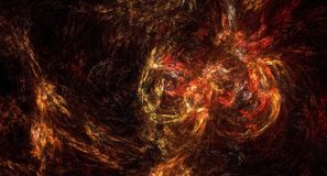 Red abstract fractal background. Image Stock Image