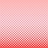 Red abstract halftone dot pattern background. Design Royalty Free Stock Photography