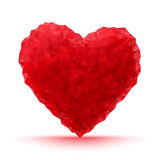 Red Abstract Heart Stock Photo