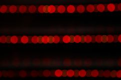 Red abstract illumination lines Stock Photos