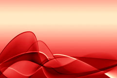 Red abstract illustration Royalty Free Stock Photography