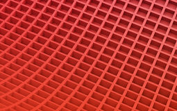 Red abstract image of cubes background. 3d render. Ing stock illustration
