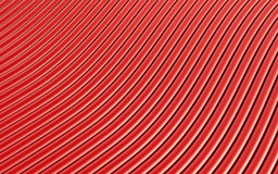 Red abstract image of lines background. 3d render Stock Photo