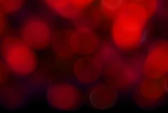 Red Abstract Lights Stock Image