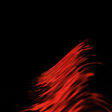 Red abstract lines Royalty Free Stock Image