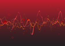 Red Abstract lines background Royalty Free Stock Image