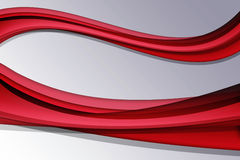 Red Abstract Lines Stock Photos