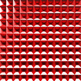 Red abstract low-poly polygonal triangular mosaic background Royalty Free Stock Image