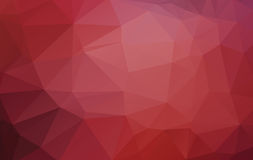 Red Abstract Low Poly Vector Background Stock Photography