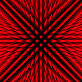 Red abstract lowpoly futuristic background Stock Image