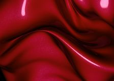 Red abstract metalic effect background Royalty Free Stock Image